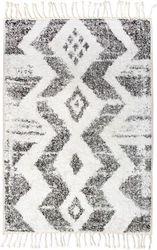 Badmat - zigzag -  75x110cm - HK Living